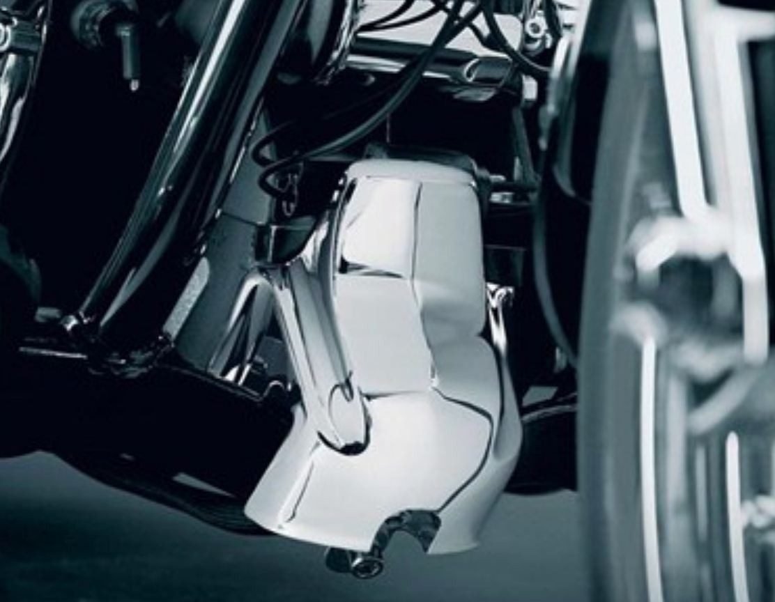 KURYAKYN FRONT MOTOR MOUNT COVER for Dyna