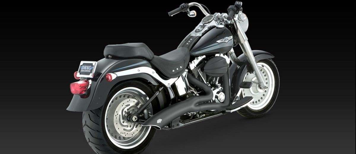 VANCE AND HINES - BIG RADIUS 2-1 EXHAUST KITS FOR SOFTAIL