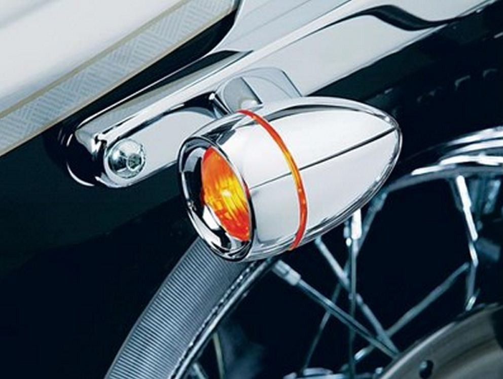 KURYAKYN - DEEP DISH BEZELS WITH LENSES FOR BULLET TURN SIGNALS