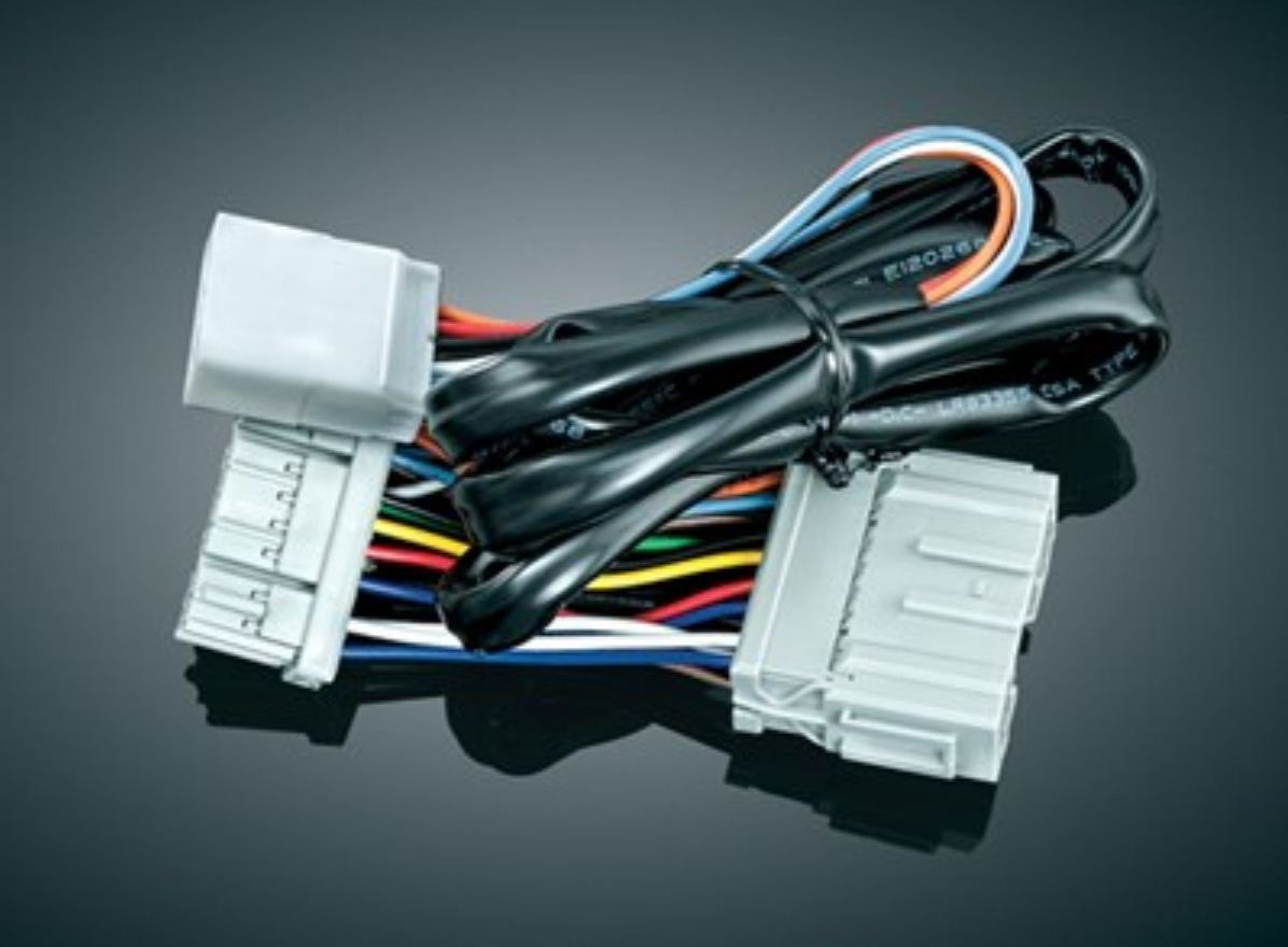 Plug & Play Rear Accessory Harness (ea) Fits: '12-'13 GL1800 Models