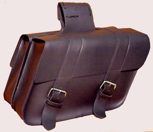 SB130 Large Slant Saddlebag with ABS plastic backing