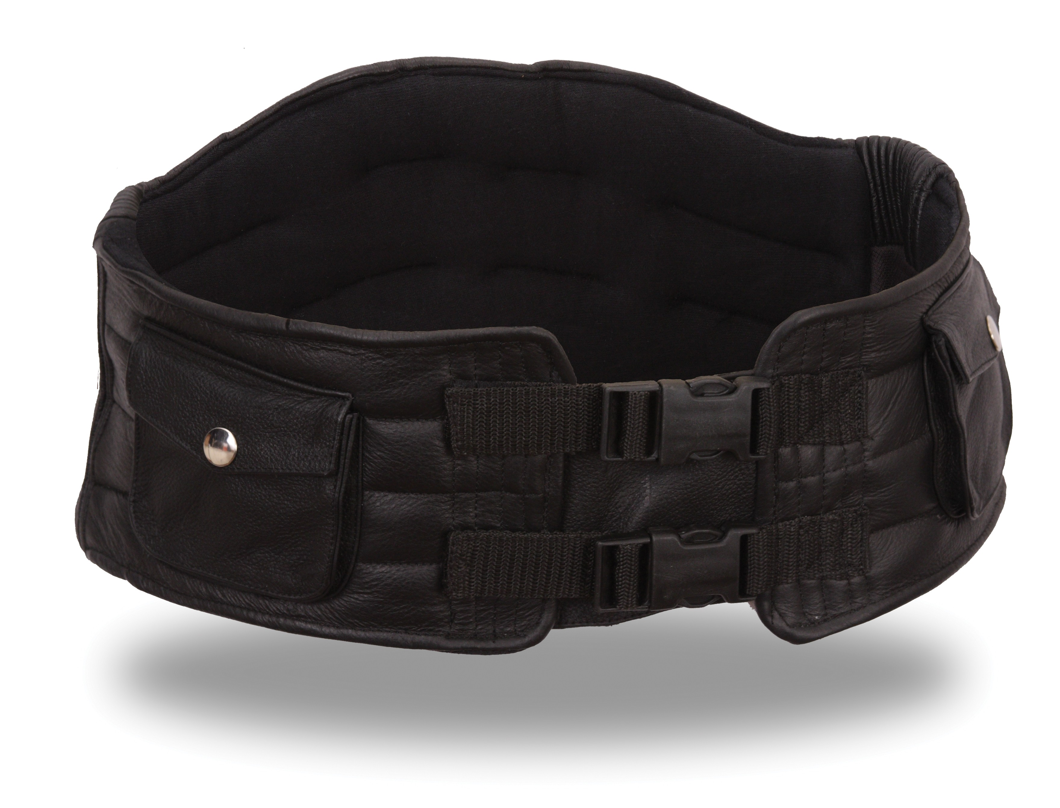 First Manufacturing Leather Back Support Belt