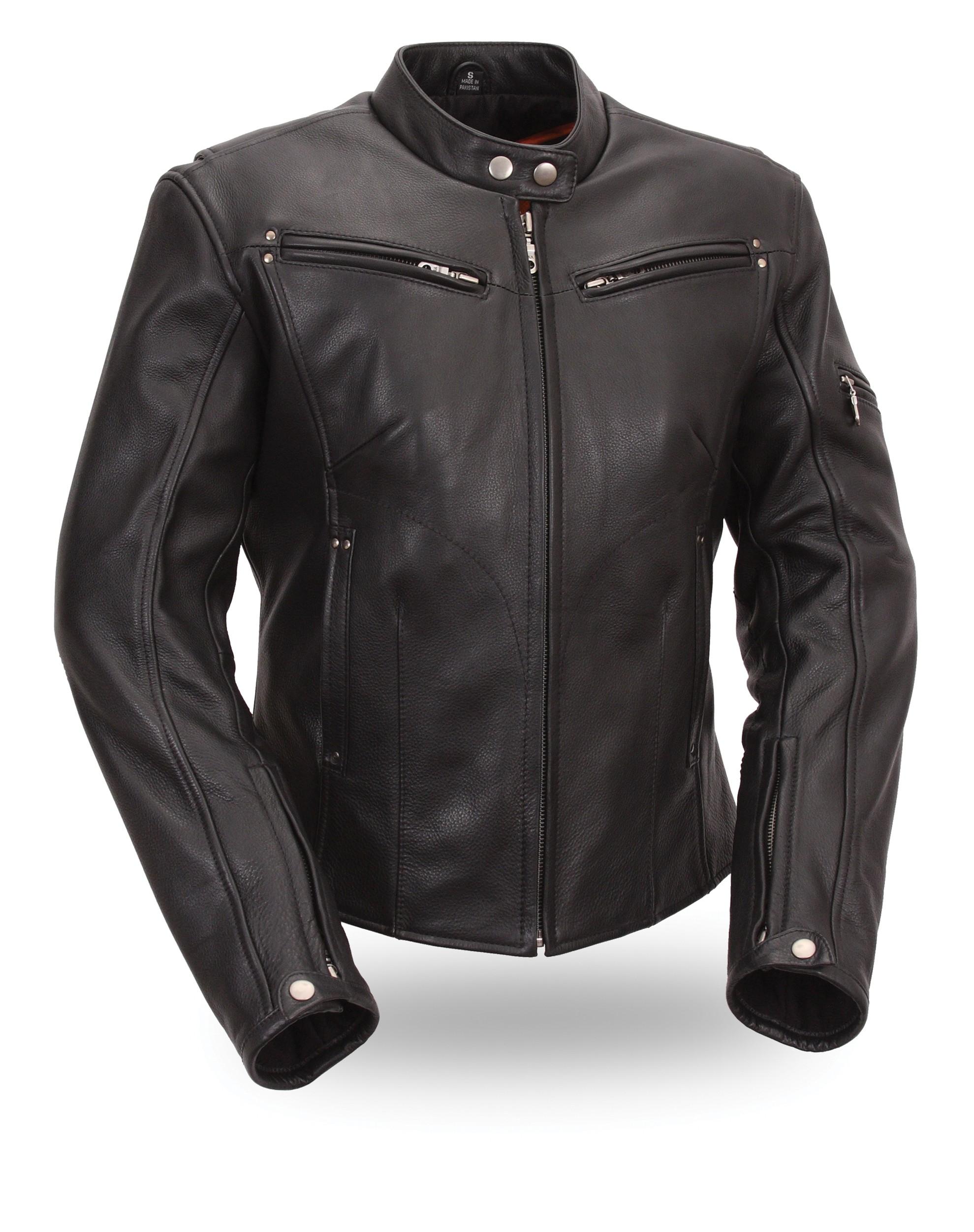 Women's Sleek Vented Scooter Jacket FIL157NOCZ