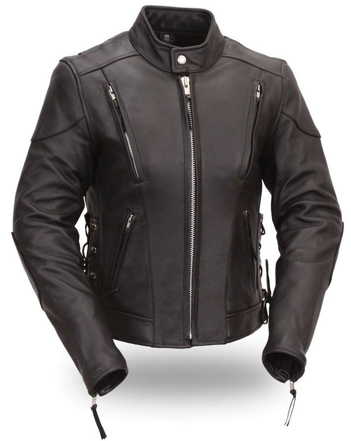 First Manufacturing Co. Ladies Classic Vented Scooter Jacket
