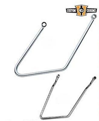 Custom Chrome - Chrome Saddlebag Support Brackets
