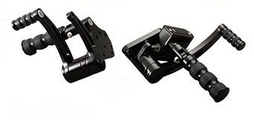 Black Anodized FWD Control Kit for Softails
