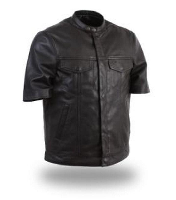 First Manufacturing Men's Soft, light, half sleeve shirt FIM410SDL