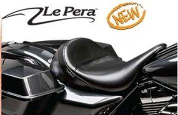 """Le Pera - FLH Aviator Deluxe Pillion Seats 13"""" wide"""