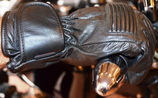 Redline Leather Kevlar Gloves
