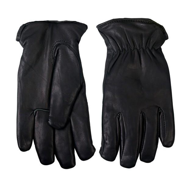 Hot Leathers Deerskin Gloves w/Waterproof Lining