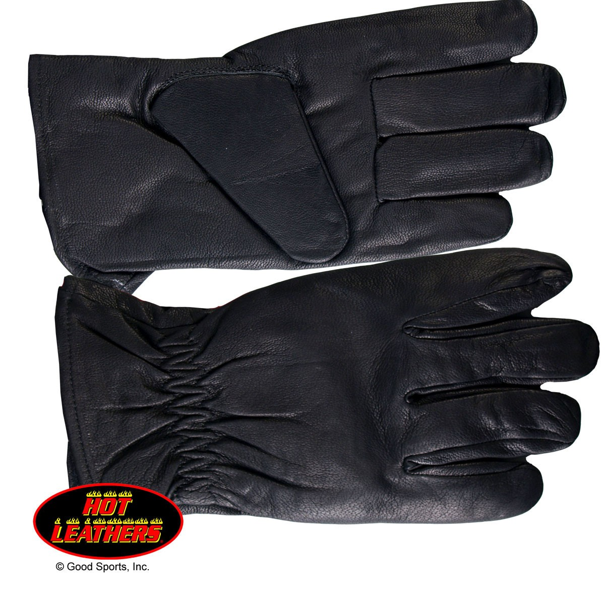 Hot Leathers Waterproof Unisex Leather Riding Glove