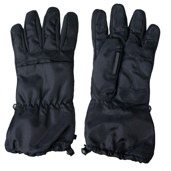 Hot Leathers Mens Waterproof Gauntlet Gloves