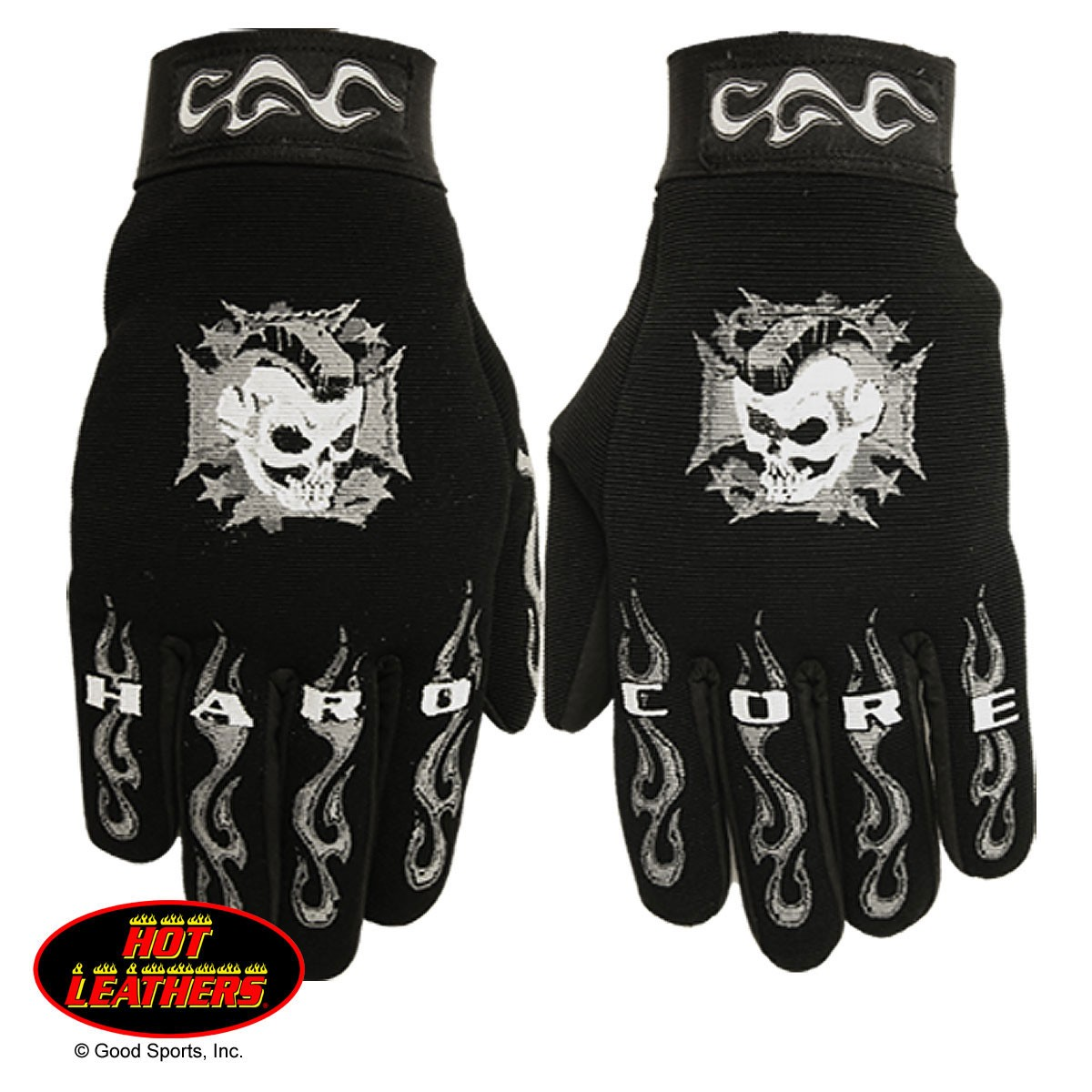 Hot Leathers® Hardcore Mohawk Mechanics Gloves