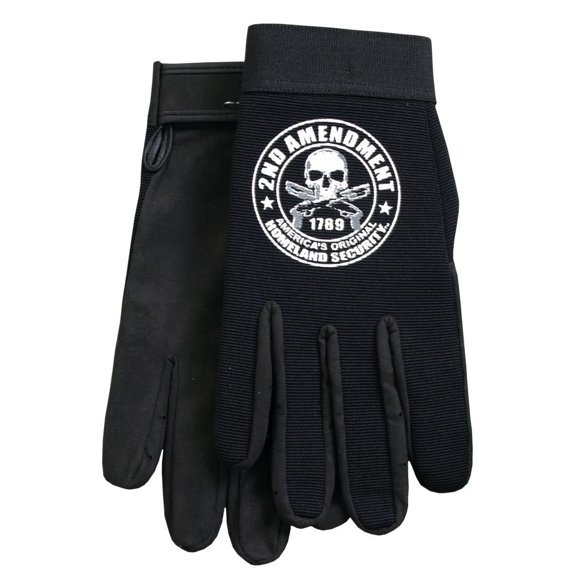 Hot Leathers 2nd Amendment Mechanics Gloves
