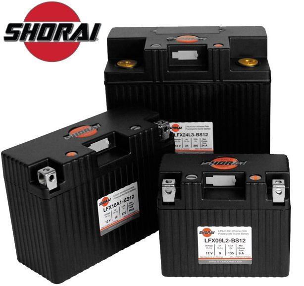Shorai Batteries for Harley Davidson