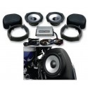 "HOGTUNES ""REV"" 7"" WOOFER AND AMP KIT"