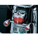 KURYAKYN - ZOMBIE™ & WIDOW CHROME TAILLIGHT COVER