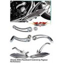 Pegasus Performance - Chrome Billet Floorboard Controls for Softails and Touring