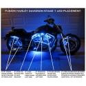 FREYMOTO - Harley Davidson FUSION L.E.D. System Stage 1