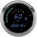 "DRAG SPECIALTIES - DAKOTA DIGITAL Harley 2000 Series ""Fatbob"" Digital Information System Tachometer"