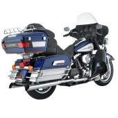 PYTHON TRUE DUAL HEADERS EXHAUST KIT SYSTEMS FOR TOURING