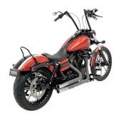 PYTHON THROWBACKS EXHAUST KIT FOR 2012-2013 DYNA