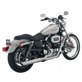 PYTHON 2-into1 EXHAUST KIT SYSTEM FOR SPORTSTERS