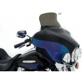 """6.5"""" Smoke FLH Spoiler Windshield - Diffuses the air stream"""