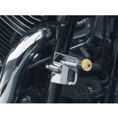 """Chrome Universal Helmet Lock for 7/8"""" to 1-1/4"""" Tube (ea)"""