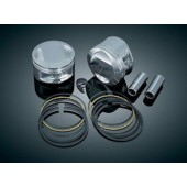 "Forged 10.5:1 Domed Piston Kit for 95"" Twin Cam (3.875"" bore)"