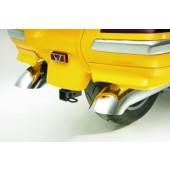 TURN DOWN EXHAUST TIPS For GL1800 2001-10, 2012- Pair