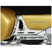 Battery Side Cover Trim With Rubber Inserts for GL1800 Goldwing 2001-2010