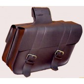 SB130 Large Slant Saddlebag with ABS plastic backing
