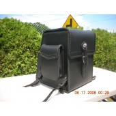 SS34BR-LARGE SLANTED SISSY BAR BAG