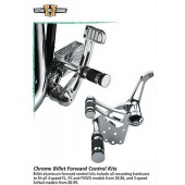 Custom Chrome - Repl. rubbers for Chrome Billet Forward Control Kits 5/8 and 3/4