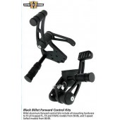 "Black Billet Forward Control Kit 3/4""-bore master cylinder"