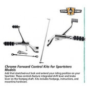 Custom Chrome - Forward Control Kits for Sportsters 883