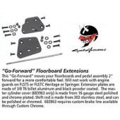 """Go-Forward"" Floorboard Extensions"