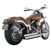 PYTHON STAGGERD DUALS EXHAUST KIT SYSTEMS FOR SOFTAIL