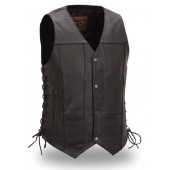 First Manufacturing Men's 10 pocket vest, Great for Hot Weather Riding FIM630CFD