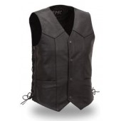 Men's Traditional Four Snap Vest