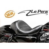 FLH Aviator Solo Seats for Sportsters 883 04 -13 - 3.3 gal tank