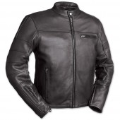 First Manufacturing Co. The Manchester Men's Black Leather Jacket