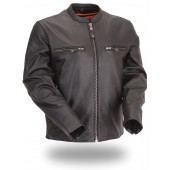Men's Full Side Stretch Scooter Jacket FIM272CFDZ
