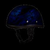 EAGLE- W/ MULTI SKULL FLAMES BLUE