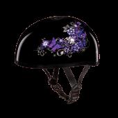 D.O.T. DAYTONA SKULL CAP- W/ BUTTERFLY
