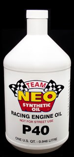 Racing Engine Oil P40