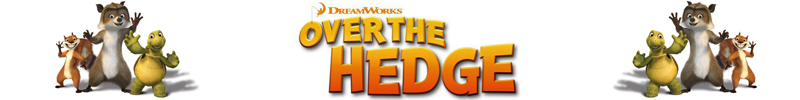Over the Hedge - 50% Off