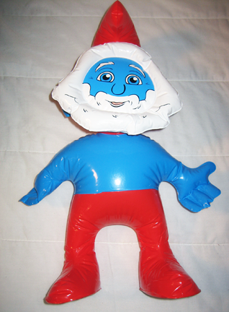 "SMURFINFL3 - 24"" Papa Smurf Inflatable Character (12pcs @ $2.50/pc)"