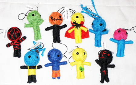 "STRINGD - 2.5"" Woven String Dolls (100pcs @ $0.35/pc)"